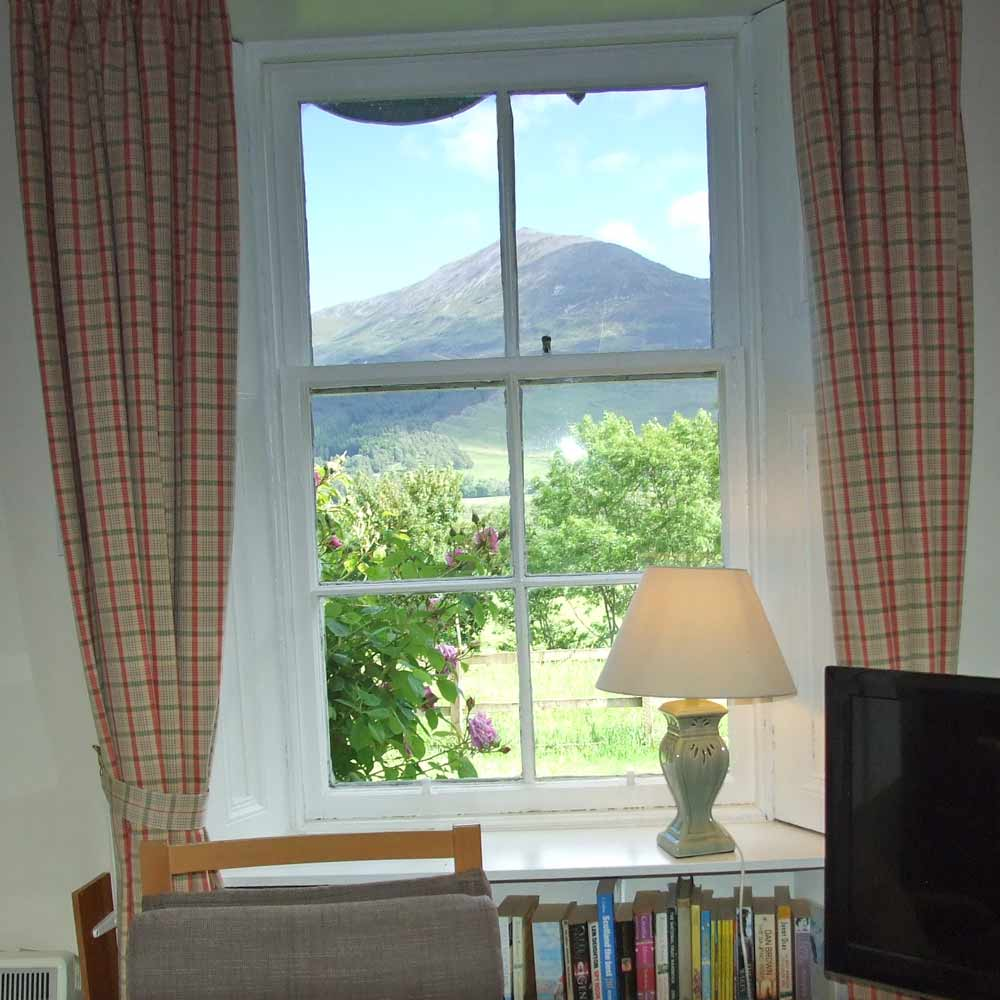 West Drumchastle - View from Sitting room window