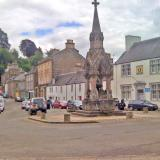 Dunkeld - a pretty village with a beautiful old cathedral by the river Tay