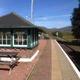 Rannoch Station has a lovely tea room